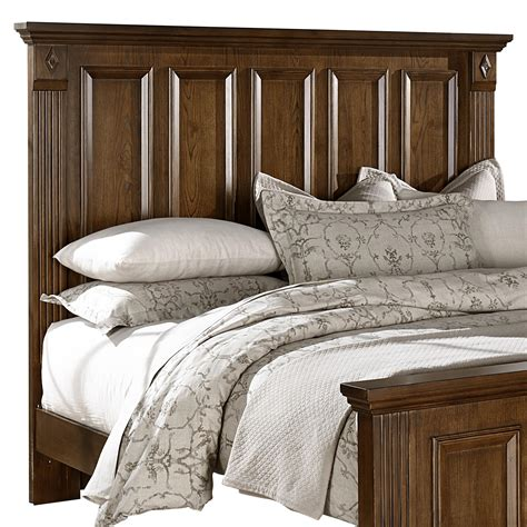 bassett headboards vaughan bassett woodlands king mansion headboard knight