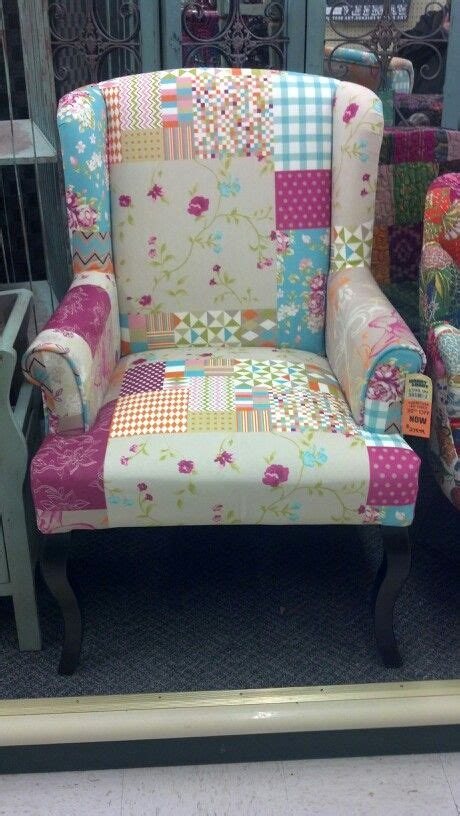 Patchwork chair at hobby lobby so cute furniture pinterest patchwork chair lobbies and