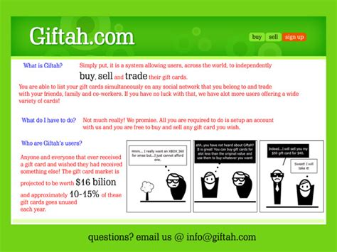 Gift Card Flyer - giftah s gift card marketplace cartoon flyer cash in your gift cards