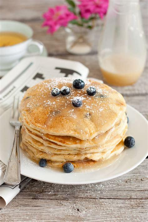 blueberry pancake blueberry buttermilk pancakes recipe dishmaps