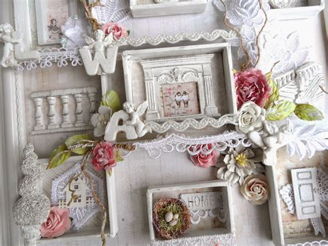 shabby chic shadow box shabbychicjcouture shabby chic frame shadow box prima