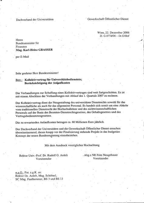 Brief Absage Anfrage Betriebsrat F 252 R Das Wissenschaftliche Personal