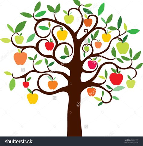 apple tree clipart bare apple tree clipart 101 clip