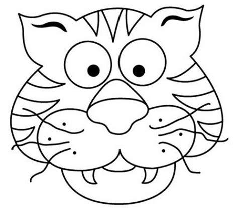 mascaras de carnaval para colorear contuspropiasmanos mascara tigre 300x269 mascaras de carnaval para colorear