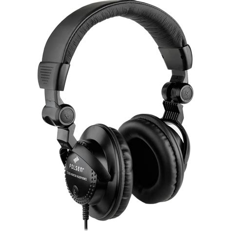Monitor Earphone polsen hpc a30 closed back studio monitor headphones hpc