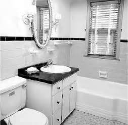 Black And White Small Bathroom Ideas by Bathroom Black White Bathrooms Design Ideas Country White