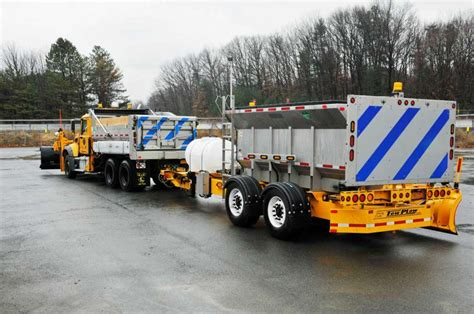 Can Pull A Plow by New York State Dot Unveils Larger Snow Plows Times Union