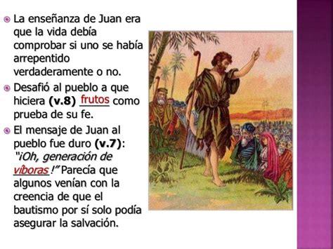 quien era juan bautista ministerio de juan el bautista