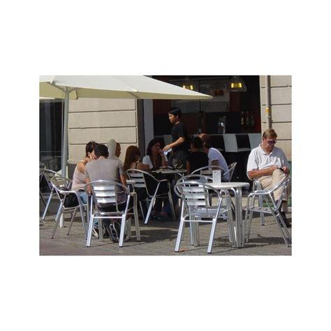 werzalit händler mesa restaurante y terraza aluminio cson sobre werzalit