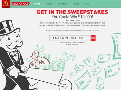 Mcdonalds Sweepstakes - 2014 monopoly game at mcdonald s sweepstakes sweepstakes fanatics