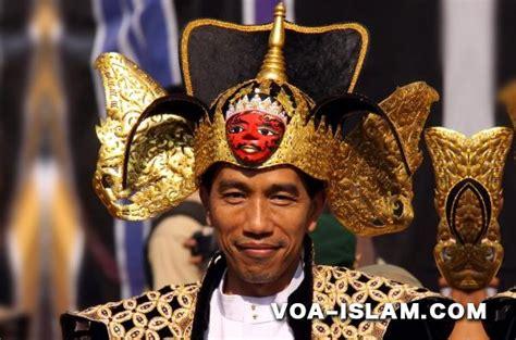 Baju Koko Na Syifa 3 singgung baju koko dan peci jokowi dituding hina orang