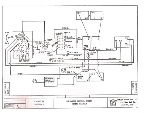 ez go electric wiring diagram wiring diagram