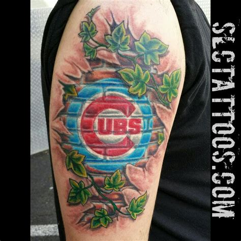 chicago cubs tattoo pin by carli call on ink
