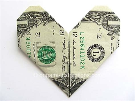 How To Do Money Origami - 25 awesome money origami tutorials diy projects for