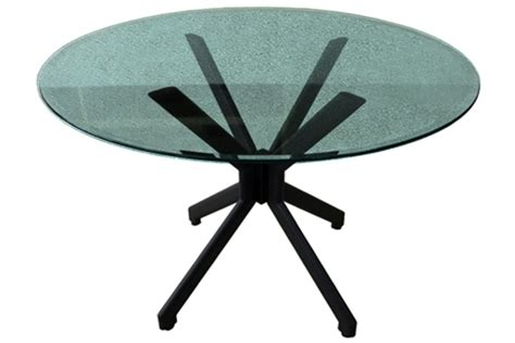 Crackle Glass Top Dining Table Alan Table Dining Set With Crackle Glass Top Viking Casual Furniture