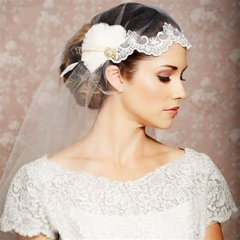 Beautiful Wedding Hairstyles With Veils by 20 Stunning Wedding Hairstyles With Veils And Hairpieces