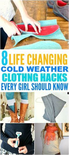 8 Clever Clothing Tricks To Keep Warm by 1000 Images About Tips Tricks Hacks On