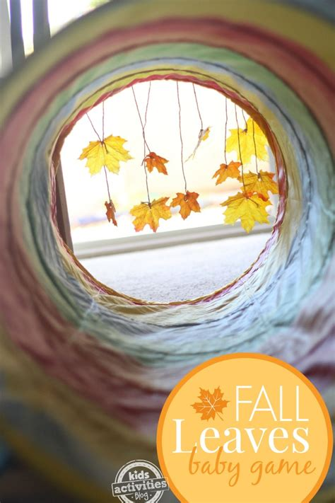 infant fall 25 fall activities and fall crafts for with leaves