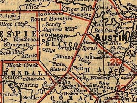 blanco texas map blanco texas tx