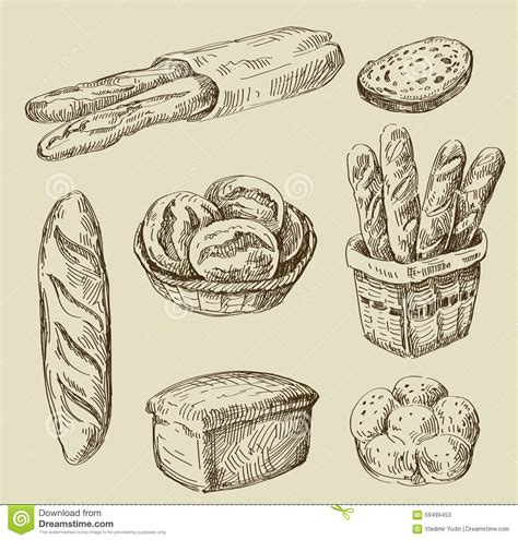 food doodle bread bread doodle