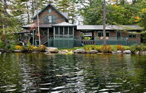 Lake House by Lake House Rustic Exterior Burlington By Smith