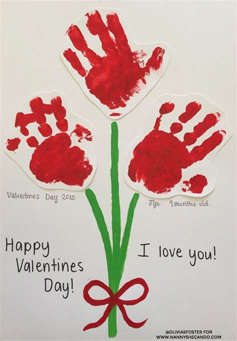 baby valentines day valentines day easy craft