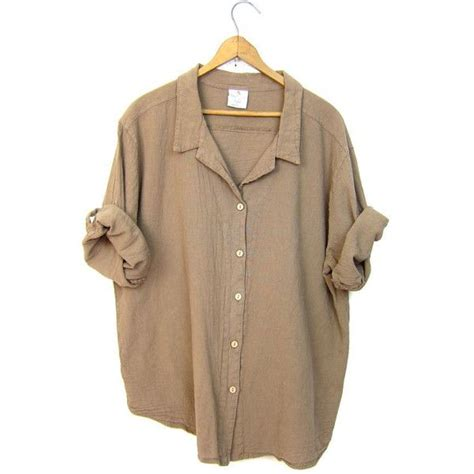 light brown tops for women basic boxy beige blouse light brown button up minimal