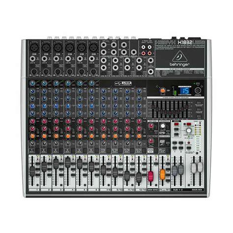 Jual Usb Audio Mixer jual behringer xenyx 1832 usb mixer audio harga