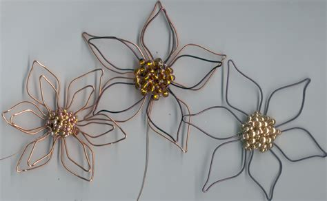 wire flowers beader july 2011