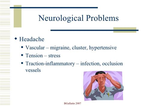 swinging problems med surg a neuro ppt