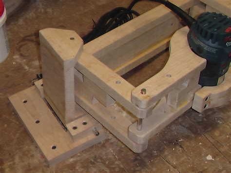 3d pantograph jig for routing plastic parts telecaster