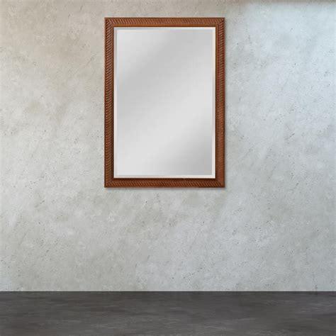 howard elliott 36 in x 36 in maisey rustic mirror