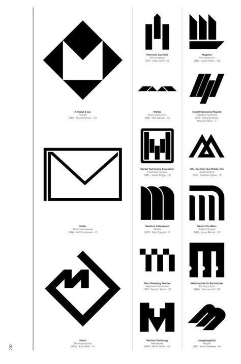 logo modernism design 3836545306 logo modernism is a brilliant catalog of what good corporate logo design looks like logos