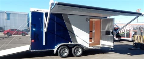 Enclosed Trailer Awning by Cargo Trailer