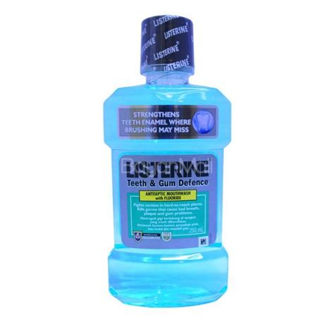 Listerine Teeth Gum Defence 250ml listerine teeth gum defense 250ml