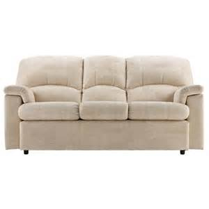 g plan upholstery 3 seater fabric sofa
