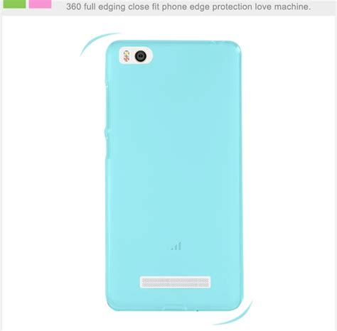 Silicon Xiaomi Mi 4i 4c high quality durable protective silicon for