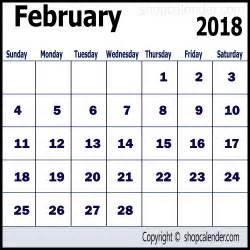 february calendar template calendar february 2018 template for free blank free