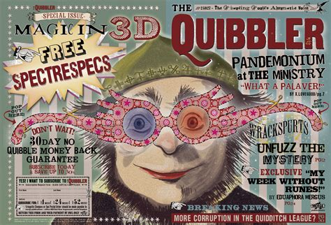 Printable Quibbler Cover | the quibbler essential information to being a writer