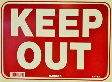 keep out signs for bedroom doors orange pico store equipment co all display fixtures for