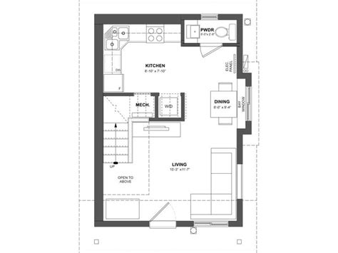 vancouver floor plans smallworks custom small homes laneway houses in