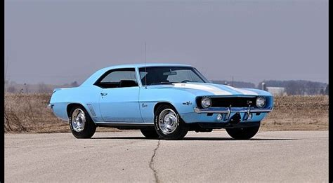 mecum to auction carolina blue 1969 camaro z 28 in may gm authority