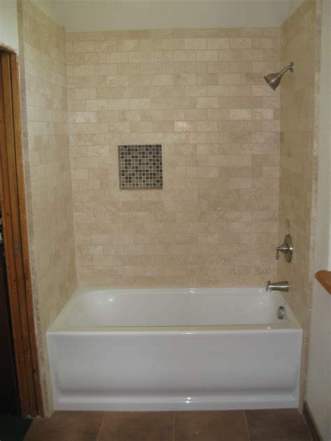 bathtub with tile top 25 best garden tub surround tile designs tile tub