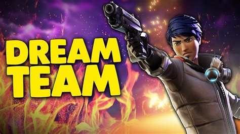 what fortnite team is on the team fortnite battle royale funtage