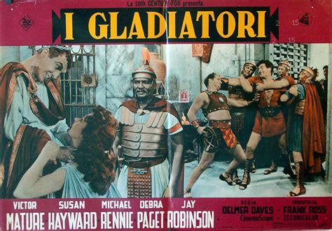 film gladiatori quot i gladiatori quot movie poster quot demetrius and the