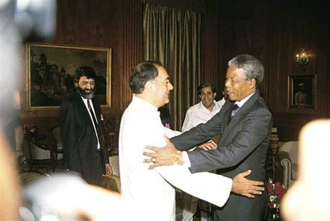 biography of nelson mandela in nepali rajiv gandhi a look at his life on his 69th birth