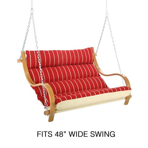 swing cushions replacement double swing cushion 48 quot hatteras hammocks