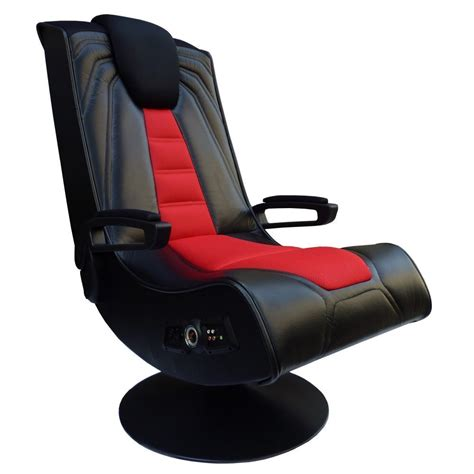 recliner gaming setup the ace bayou x rocker spider video game chair provides