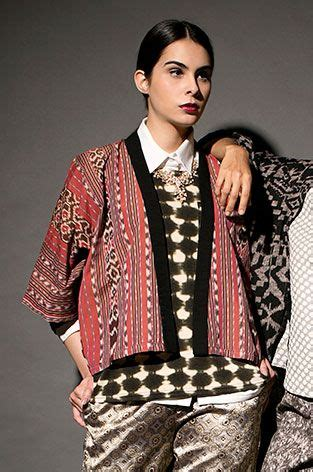 Blousee Kimono Ikat Tali the world s catalog of ideas