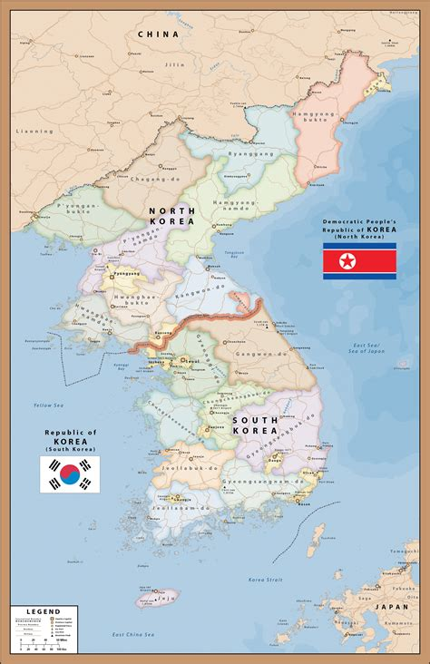 map of korea south korea map digital vector creative